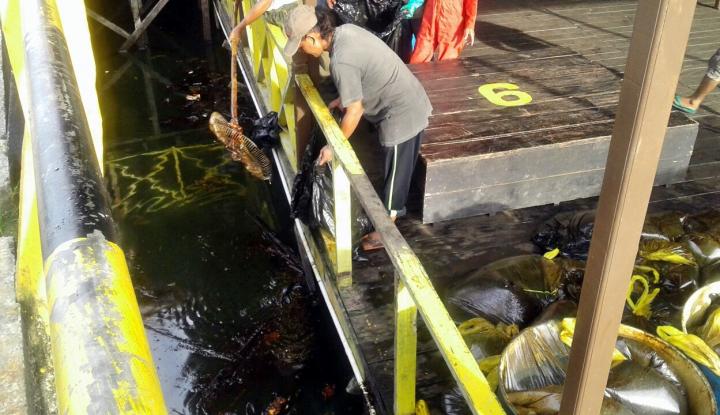 Foto Berita Siti Nurbaya Kirim Penyelam Telusuri Penyebab Kebocoran Pipa Gas