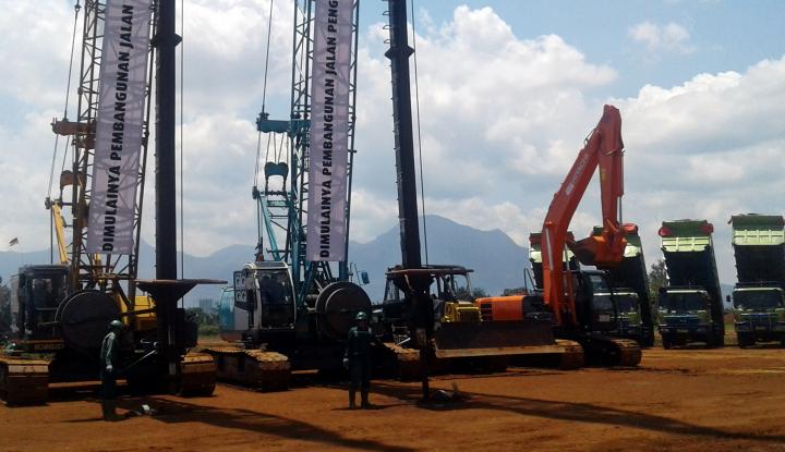 Foto Berita Pembangunan Jalan Exit Tol Gedebage-Padaleunyi Dorong Perekonomian Jabar