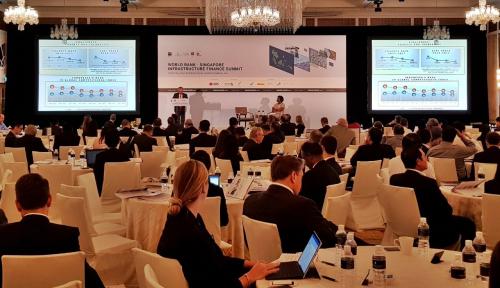 Foto Peluang Investasi Infrastruktur di Indonesia Bergema di Forum Bank Dunia