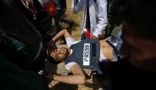 Foto Militer Israel Tembak Mati Jurnalis di Gaza