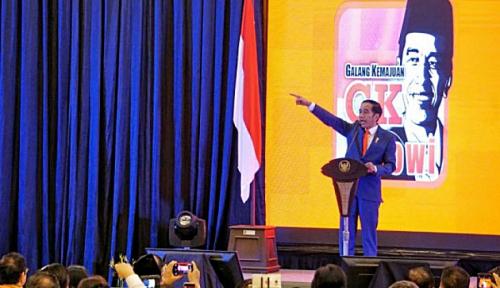 Foto Jelang Deklarasi, GK Jokowi Sumut Gelar Berbagai Event