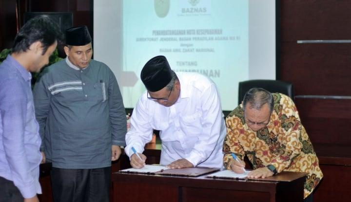 Foto Berita Ditjen Peradilan Agama Salurkan Dana Iwadh ke BAZNAS
