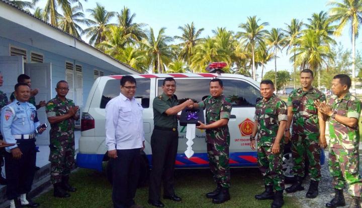 Foto Berita UPZ BAZNAS-TNI Bantu Mustahik Perbatasan