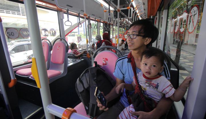 Foto Berita Beroperasinya Suroboyo Bus Dianggap Bisa Turunkan Angka Kecelakaan