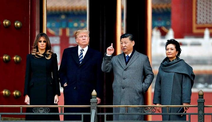 Foto Berita Trump Mengaku Belum Siap Lakukan Kesepakatan Dagang dengan China