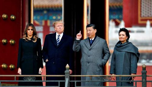 Foto Trump Tak Berharap Banyak dari Dialog Perdagangan China-AS Pekan Ini