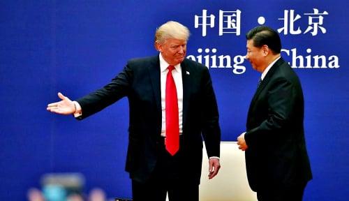 Foto Babak Baru Perang Dagang Antara China-AS
