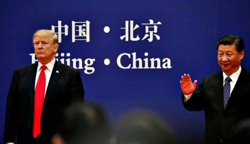 Foto Hubungan Pertemanan Trump-Xi Jinping Temui Jalan Buntu?