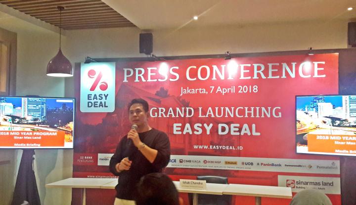 Foto Berita Sinar Mas Land Bidik Rp2,5 Triliun dari Program Easy Deal