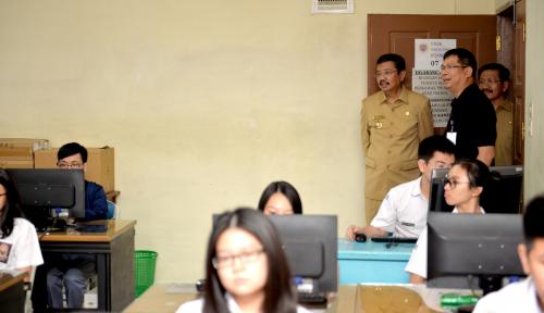 Foto 942 SMA di Sumut Laksanakan UNBK