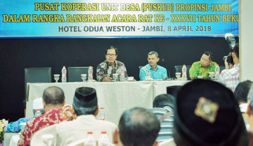 Foto LPDB KUMKM Tingkatkan Penyaluran Sektor Produktif