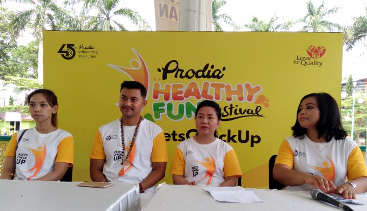 Foto Berita Prodia Berikan Cek Up Gratis Bagi Ratusan Anak Muda Kota Medan