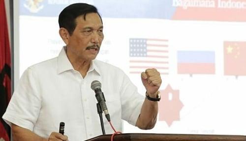 Foto Marah, Luhut Marah Sama Media yang Beritakan Dirinya Siap Cium Kaki Prabowo