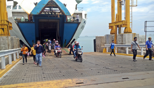 Foto Polda Banten: Fatalitas Kecelakaan Mudik 2018 Turun 100%