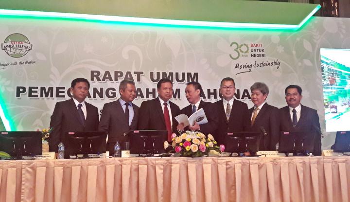 Foto Berita AALI Bukukan Pendapatan Bersih Rp17,3 Triliun