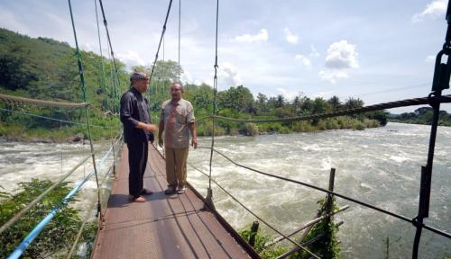 Foto Cagub PDIP Bakal Tuntaskan Persoalan Proyek Waduk Jatigede