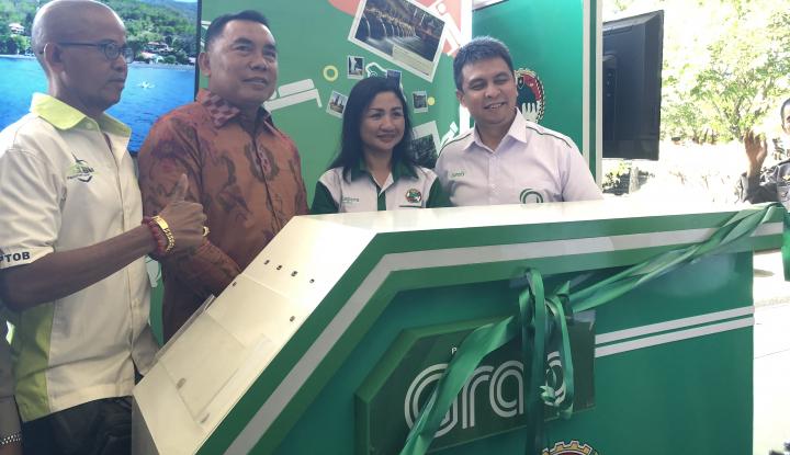 Foto Berita Kini, Booth Grab-Kophrindo Hadir di Bandara Internasional I Gusti Ngurah Rai