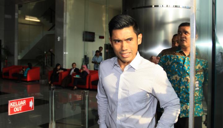 Foto Berita Usai Diperiksa KPK, Suami Dian Sastro Bungkam