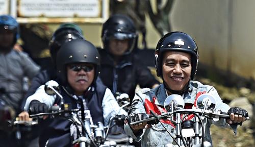 Foto Hasil Survey Belum Sentuh Angka 60 Persen, Posisi Jokowi Belum Aman?