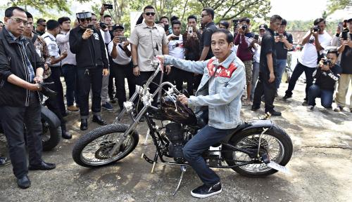 Foto Golkar Pede Bisa Menangkan Jokowi