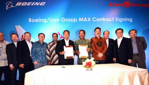 Foto Gapki Pasok Bioavtur untuk Lion Air