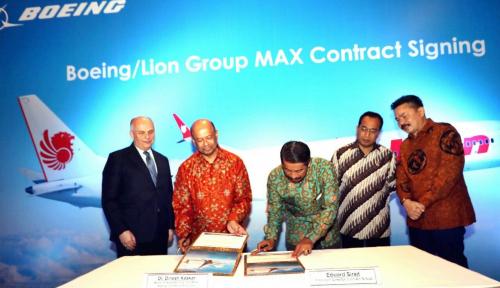 Foto Lion Air Beli 50 Pesawat Baru Seharga US$6,24 Miliar