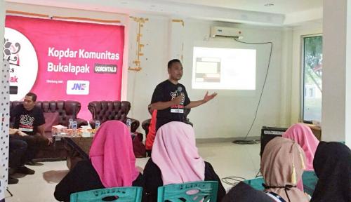 Foto Optimalkan Bisnis, Komunitas Bukalapak di Gorontalo Kopdar