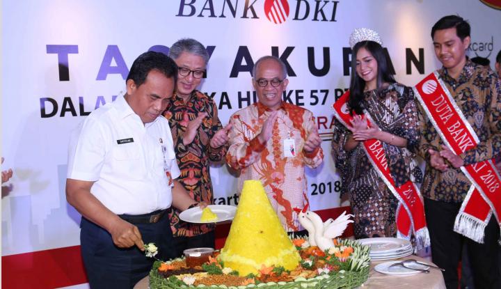 Foto Berita HUT ke-57, Bank DKI Cetak Kinerja Cemerlang