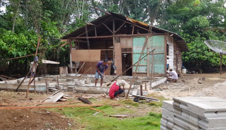 Foto Berita Tahun Ini, 180 Ribu Rumah Tak Layak Huni Bakal Dibedah