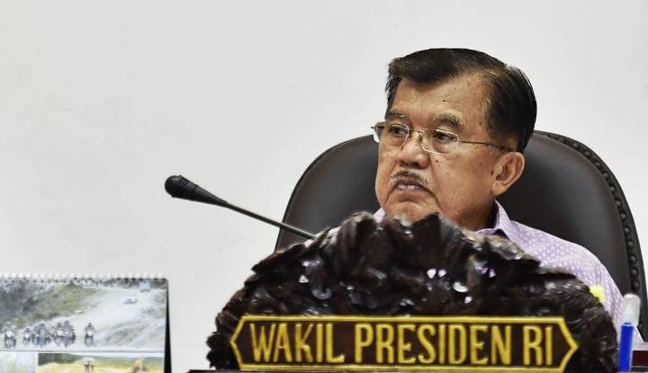 Foto Berita JK Dukung Larangan Eks Koruptor Nyaleg, Biar DPR Punya Wibawa Katanya