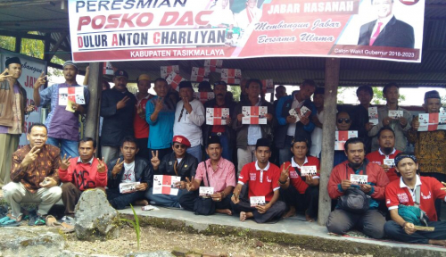 Foto Sah, PAC Gerindra Dukung Hasanah di Pilgub Jabar