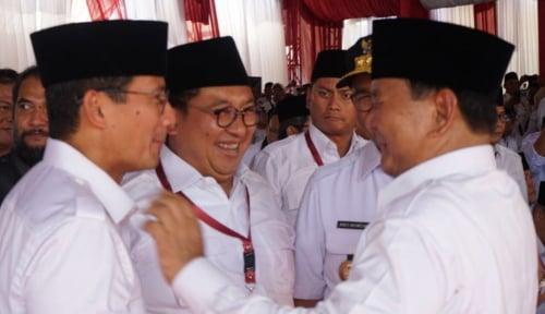 Foto Gerindra: Jawaban Prabowo Seperti Doktor Ilmu Hukum