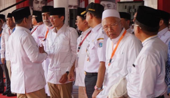 Foto Berita Gerindra Umumkan Cawapres Pendamping Prabowo di 'Injury Time'