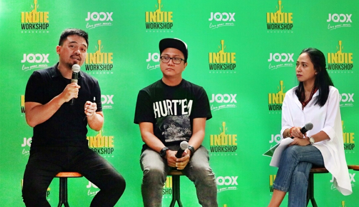 Foto Berita Joox Indie Gelar Workshop Maksimalkan Potensi Musisi Independen