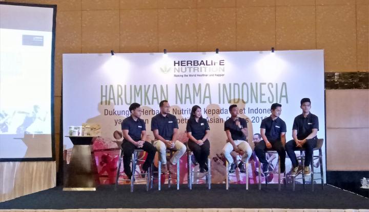 Foto Berita Herbalife Dukung Atlet lndonesia di Asian Games 2018