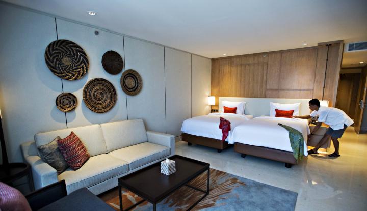 Foto Berita Lebaran, Okupansi Hotel di Bandung Capai 90%