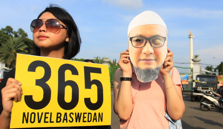 Foto Berita Setahun Kasus Novel, Mantan Ketua KPK: Memalukan Negara
