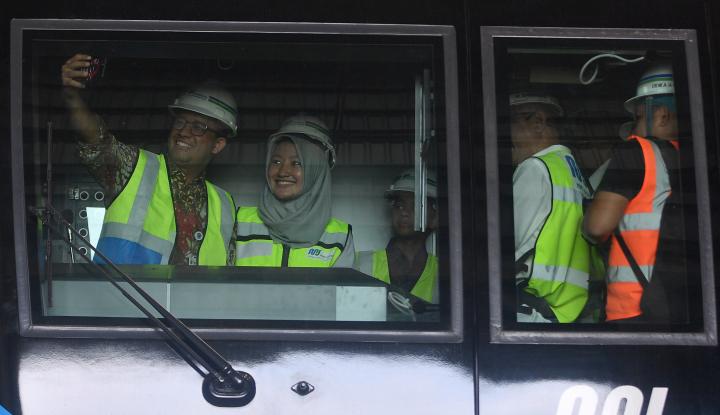 Foto Berita Ini Komentar Anies Soal MRT Jakarta