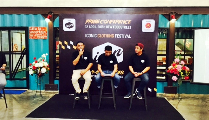 Foto Berita ICON Fest Hadirkan 70 Brand Clothing Nasional di Makassar
