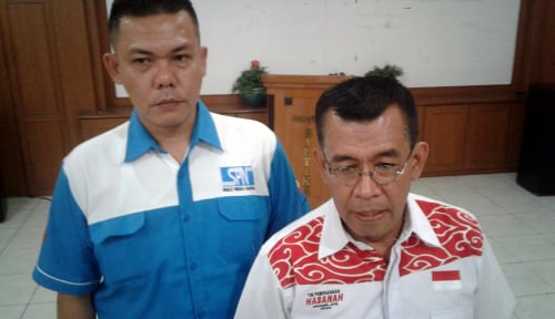 Foto Serikat Pekerja Nasional Jabar Dukung Pasangan Hasanah