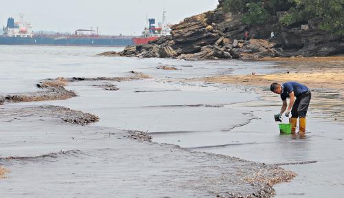 Foto DPR Minta Hukum Kasus Pencemaran Teluk Balikpapan Ditegakkan