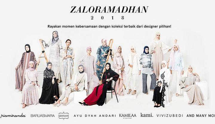 Foto Berita Mengintip Koleksi Ramadan Zalora dari 8 Desainer Asal Indonesia