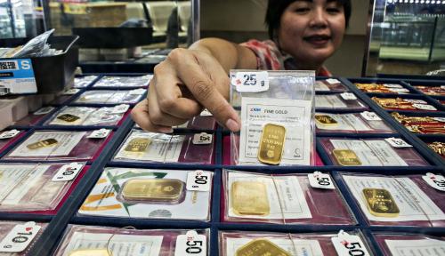 Foto Penjualan Feronikel dan Emas Antam Pecahkan Rekor Tertinggi