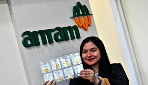 Foto Antam Anggarkan Gelontorkan Dana Belanja Rp3,4 T Tahun Depan