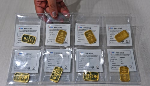Kamis, 24 September 2020: Harga Emas Antam Rontok Berkeping-Keping