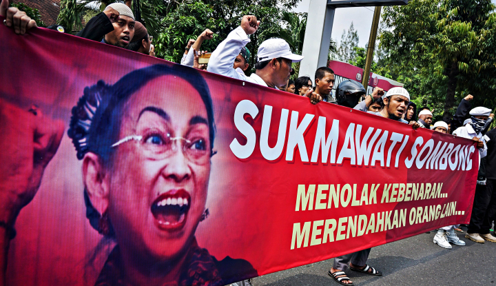 Foto Berita Mahasiswa Aceh Bergerak Minta Sukmawati Dipenjara