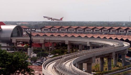 Foto Runway 3 Bandara Internasional Soetta Capai Progres 60%, Juni 2019 Diprediksi Rampung