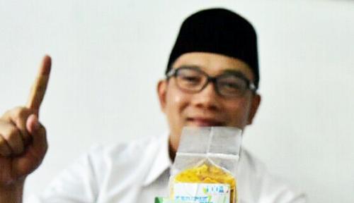 Foto Jokowi Menang, Ridwan Kamil Bilang...