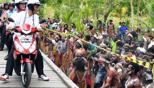 Foto Hipmi Berharap Kunjungan Jokowi Tingkatkan Ekonomi Papua