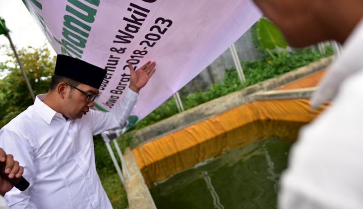 Foto Berita Curhat ke Ridwan Kamil, Petani Ikan Keluhkan Modal
